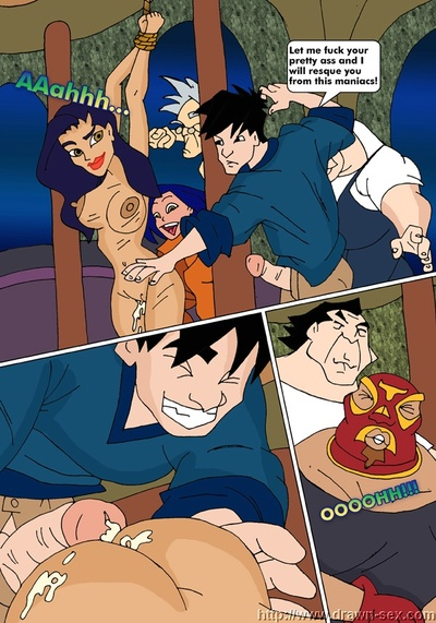 Jackie Chan Adventures- Fans Blowjob