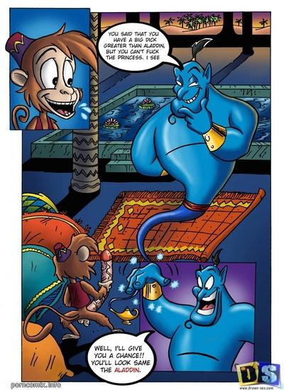 Aladdin- Incredible Transformation