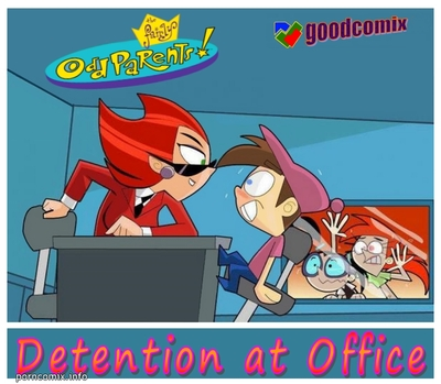 Fairly Odd Parents- Detention At Office