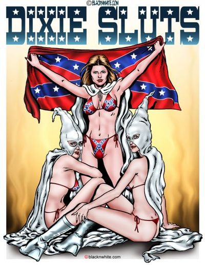 Dixie Sluts- BlacknWhite
