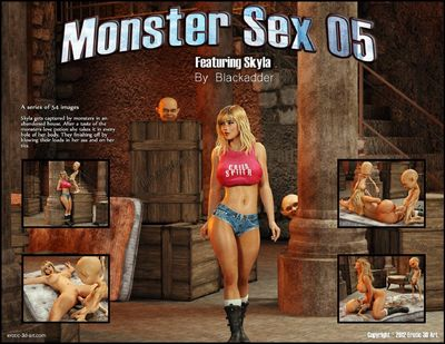 Monster Sex 05- Blackadder