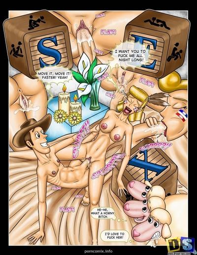 секс игрушки порно комиксы