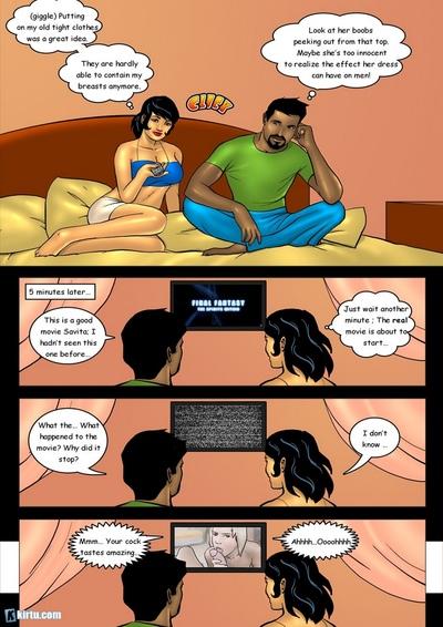 सविता पर 18 2 - के शरारती परिचारिका
