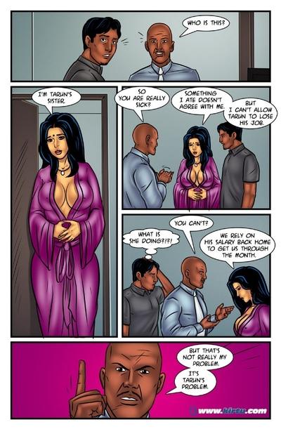 Savita Bhabhi 52 - Bahenchod Boss - part 2
