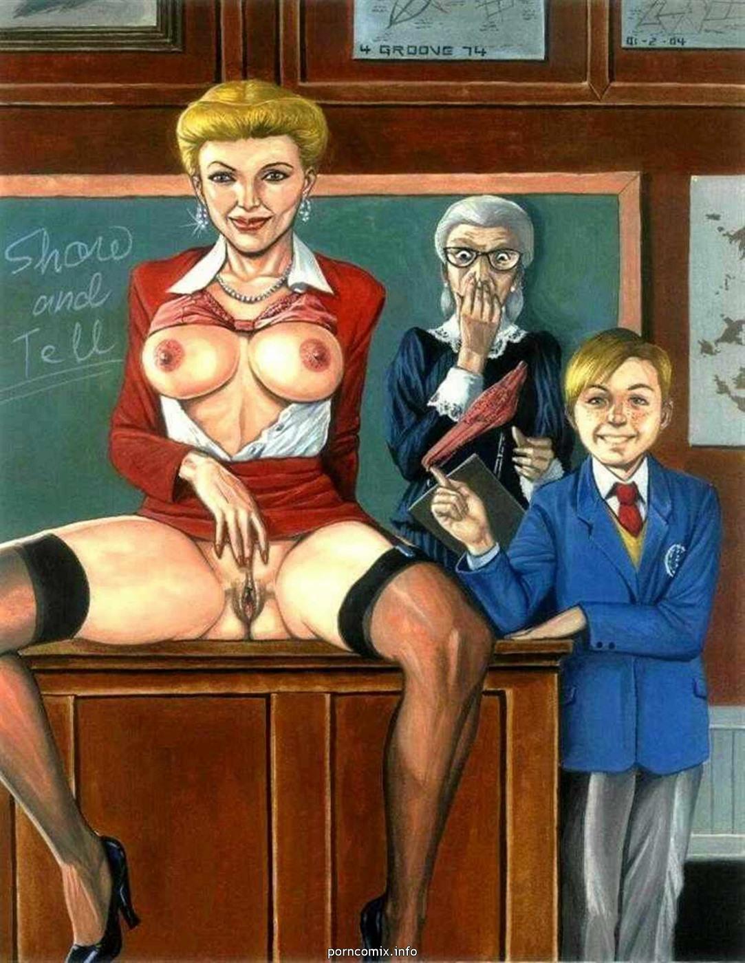 assez bizarre les parents Fop milftoon - - Hentai comics