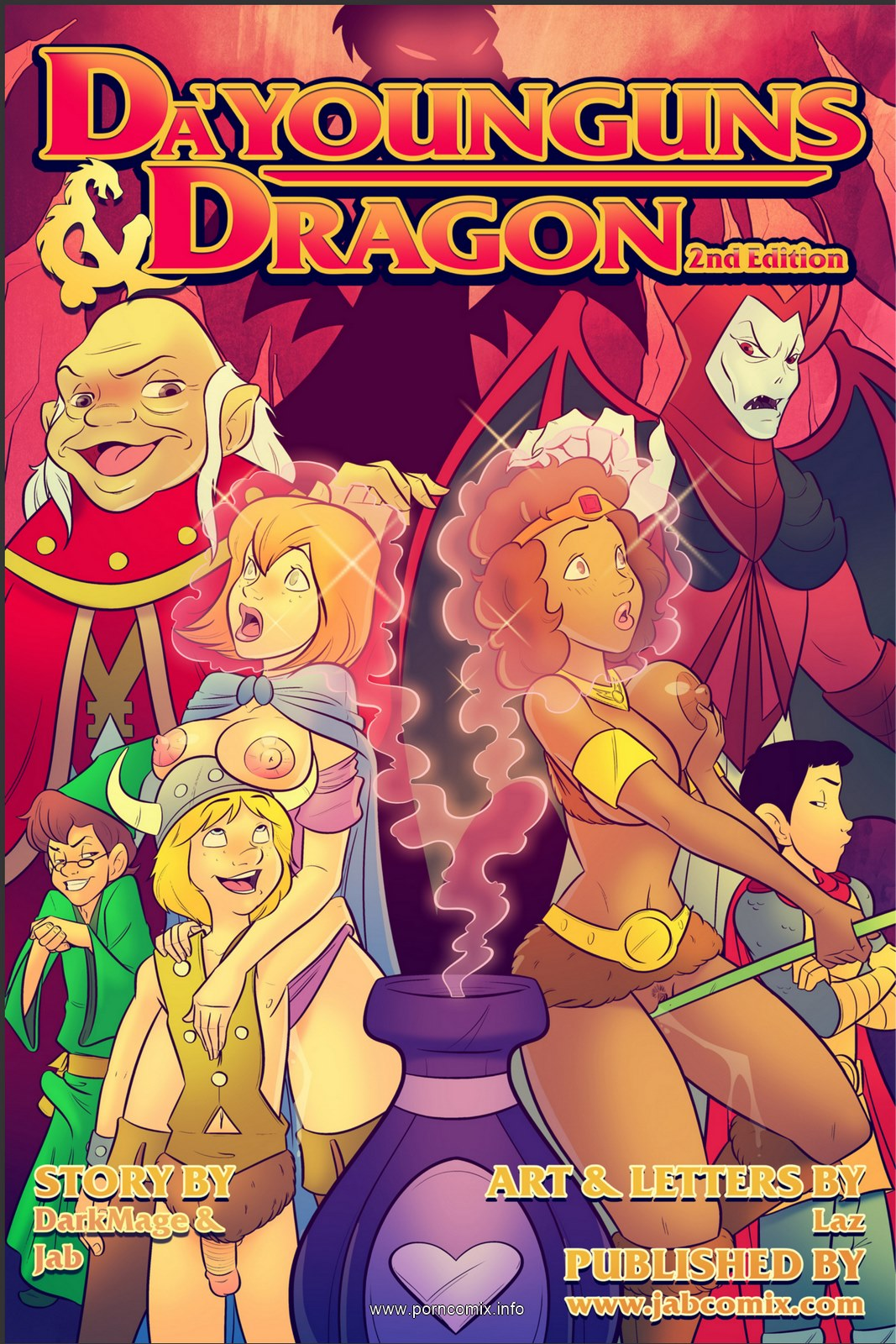 Jab Comix- Da\'Younguns and Dragons 2