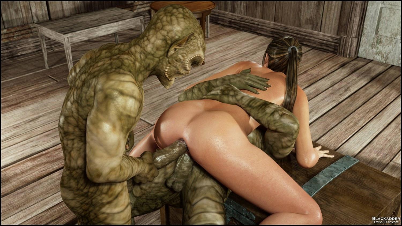 Brutal monster cock anal fuck 4