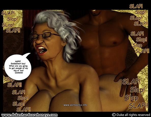 Ms Jiggles 3D - Part 2- Duke Honey