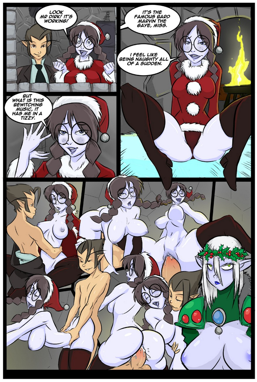 Dirk Throbcore\'s Holiday Special