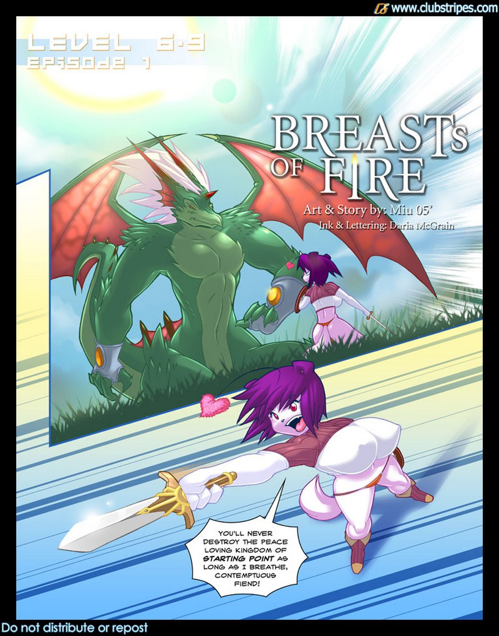 Breasts Of Fire
