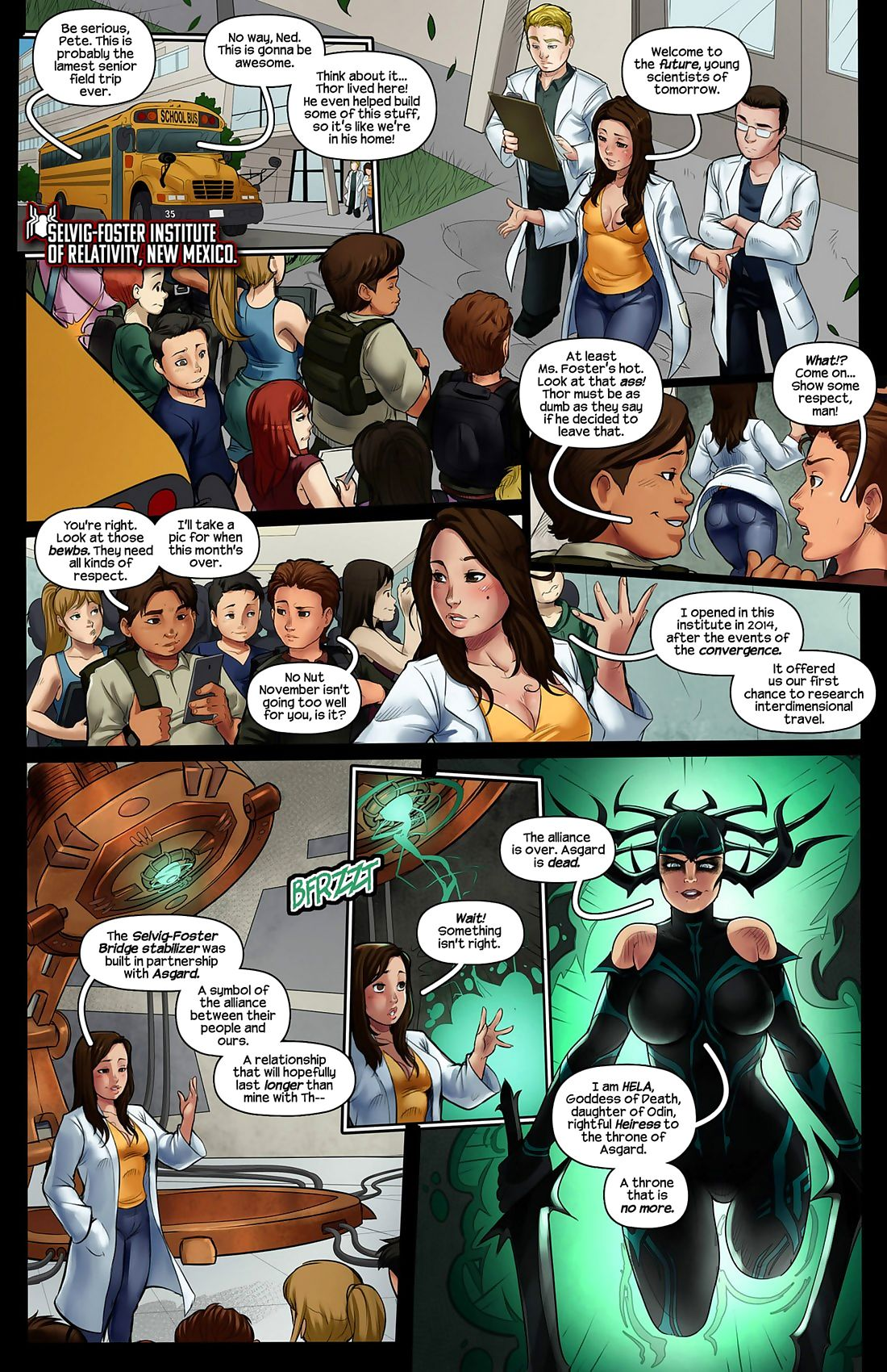 Tracy Scops- Spider-Man Ragnarok