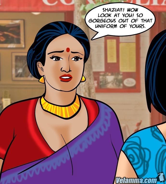 Velamma Episode 64- Blackmailed 2 - part 3