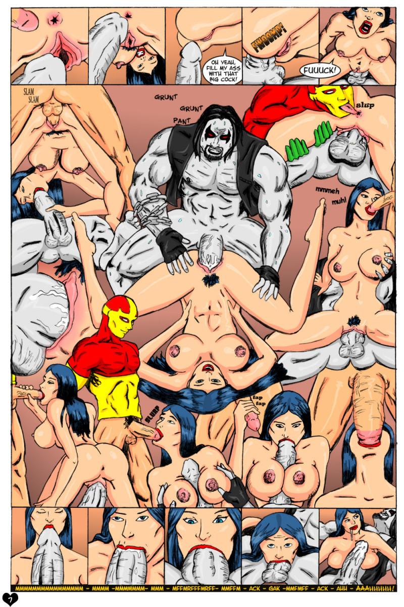 Порно с супергерофми смотреть онлайн