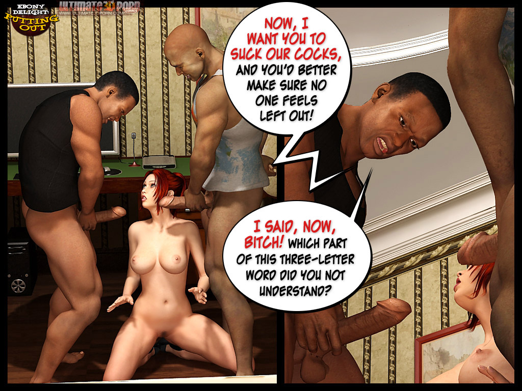Ebony Delight- Putting out - part 2