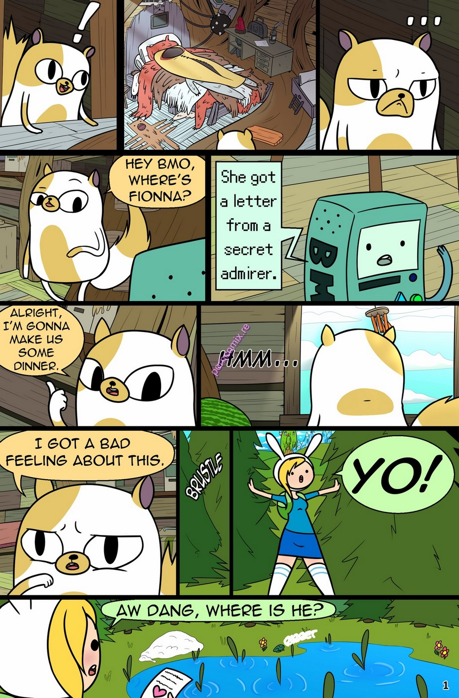 MisAdventure Time Spring Special