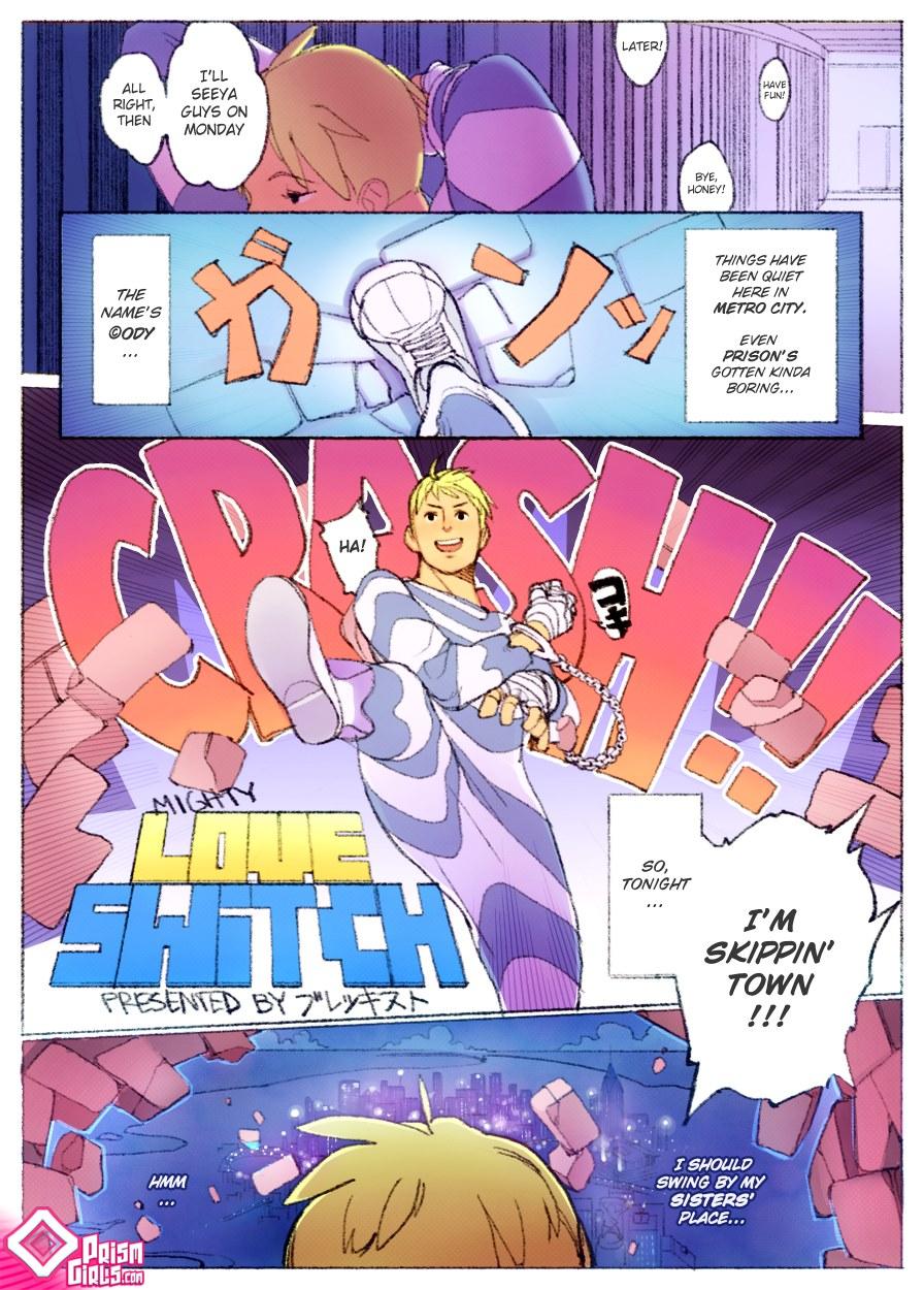 [ Brekkist] Mighty Love Switch- Prismgirl