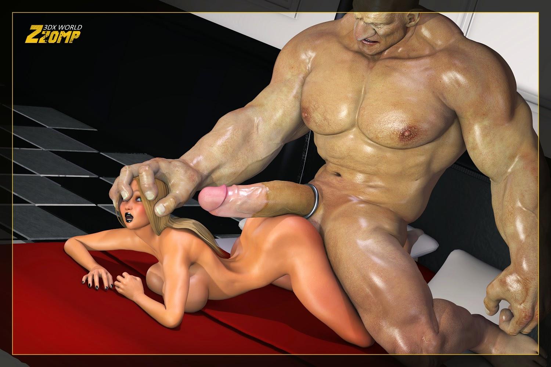 Порно с членами великанами