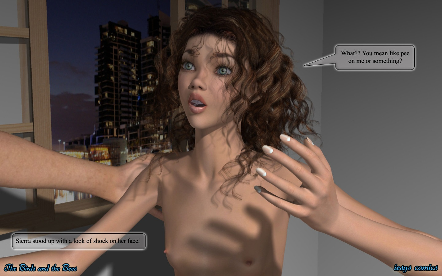Sierra Iesys comics 3D incest