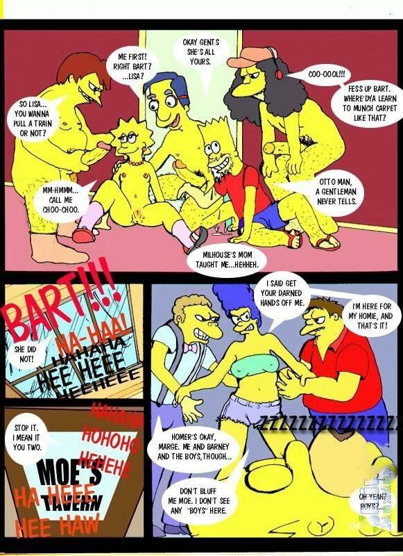 Simpsons - Bart\'s Lil\' sis