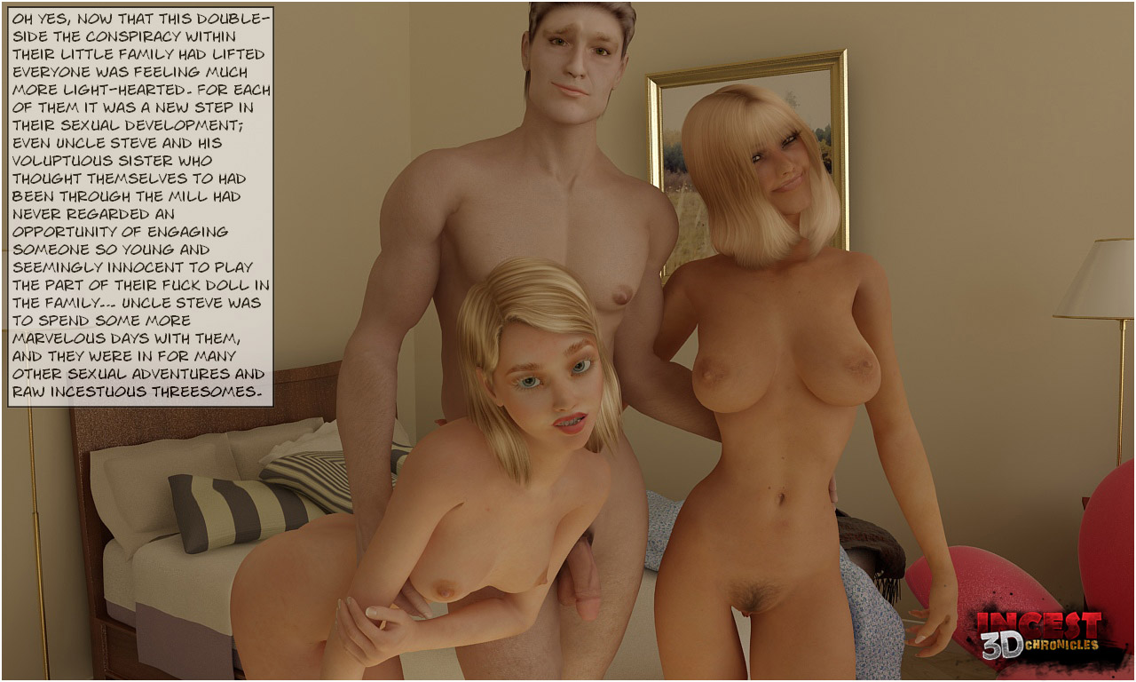 Uncle Arriving Part 2- Incest3DChronicles - part 5