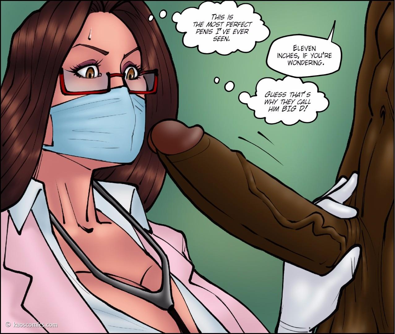 Interracial Rape Cartoons Beautiful kaos- doctor bitch - part 3 at x sex comics