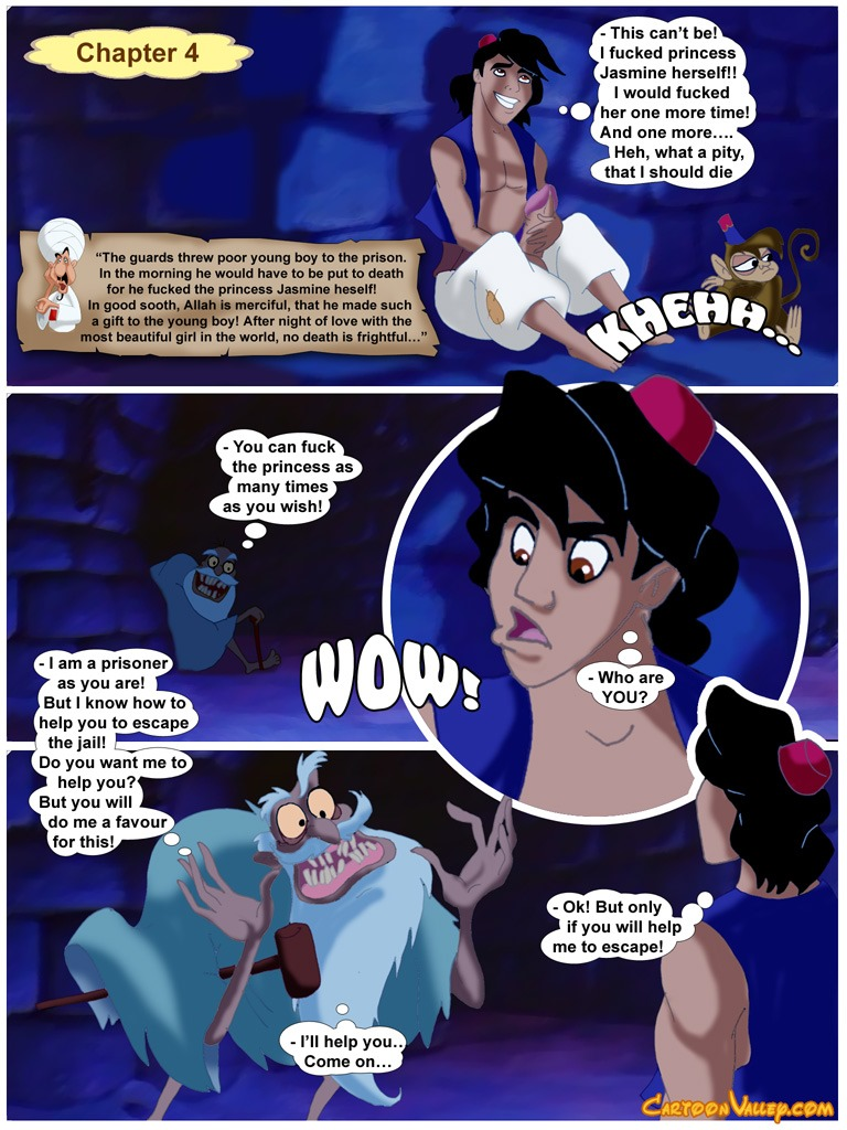 Aladdin- fucker from Agrabah - part 2