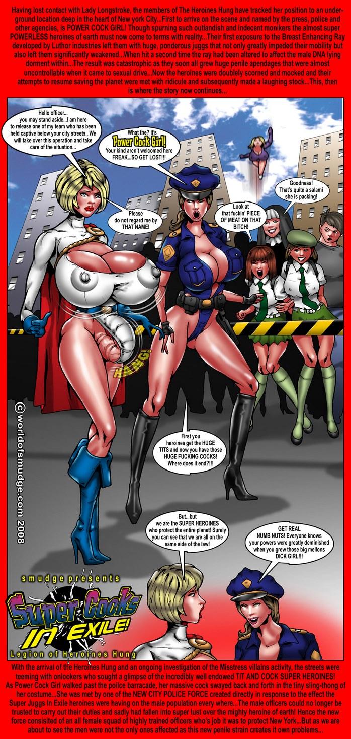 lady longstroke super Schwanz Frau