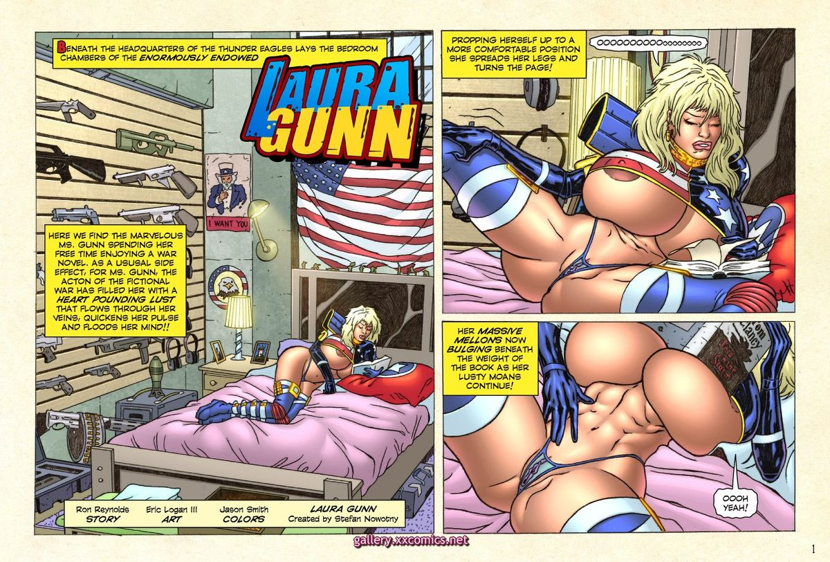 Superheroine Central- Laura Gunn