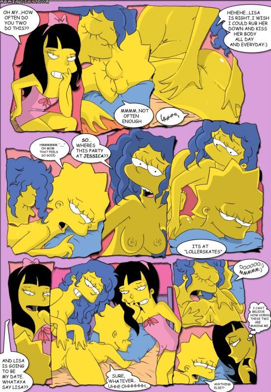 комикс симпсоны секс
