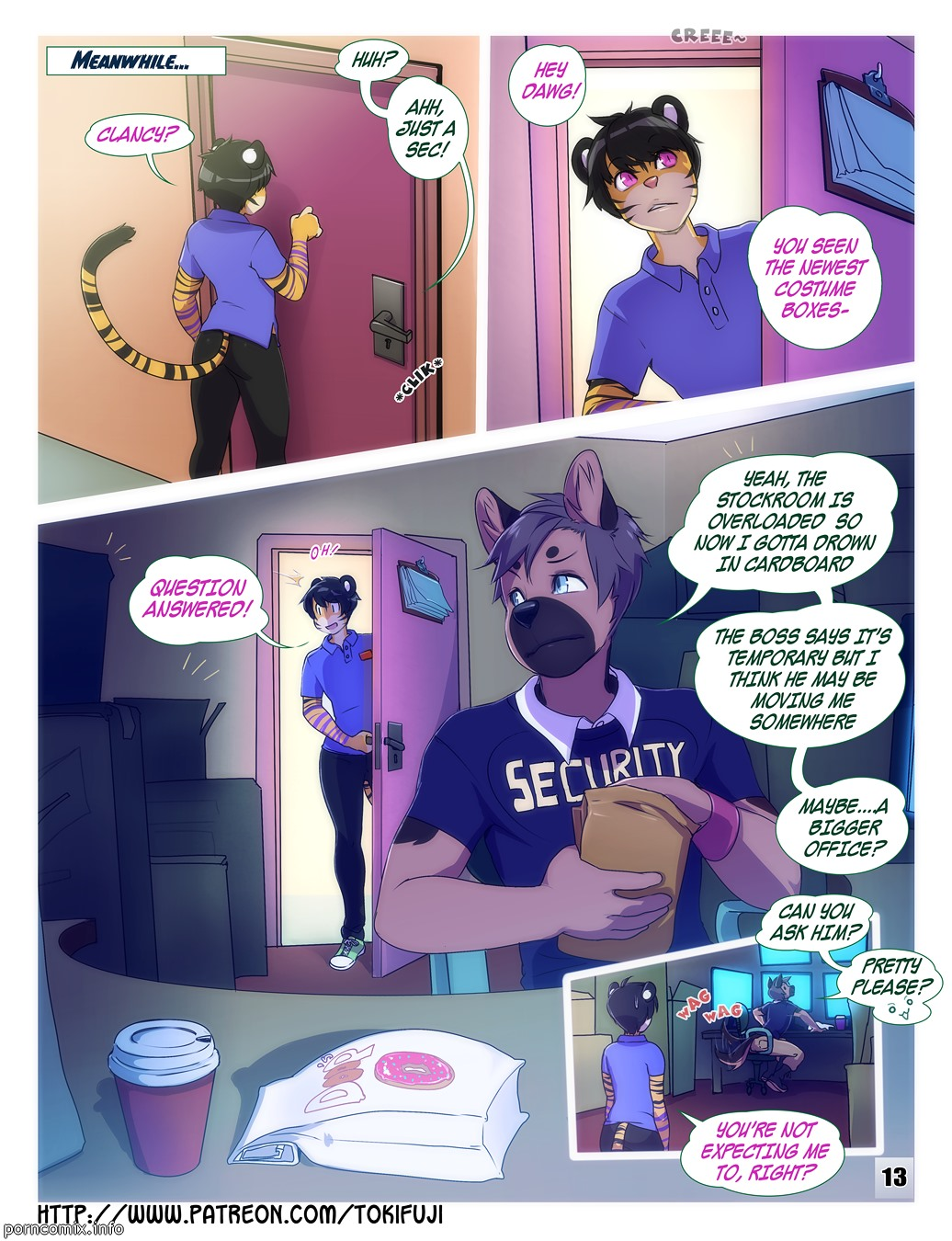 furry comic - Catching Up With Friends