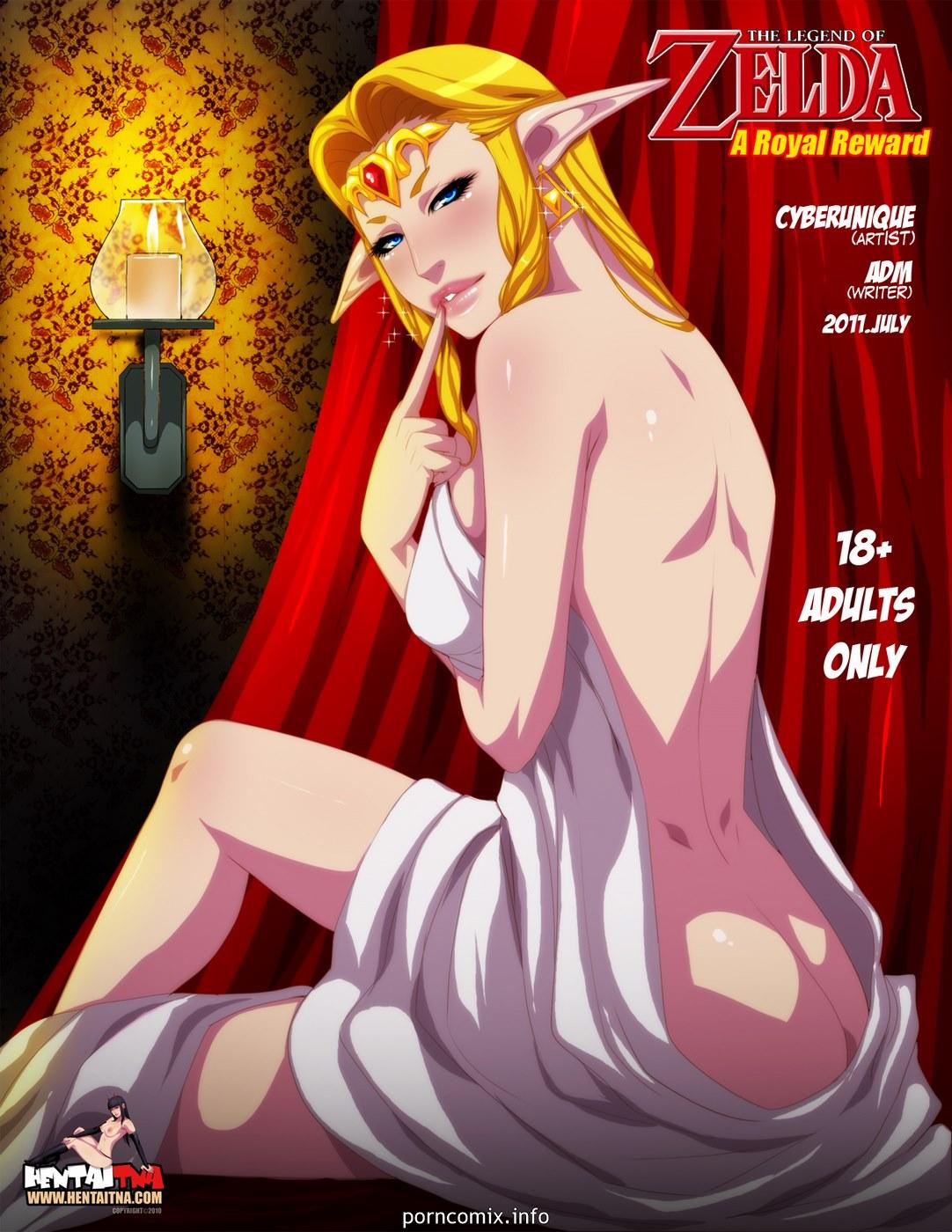 Legend of Zelda- A Royal Reward
