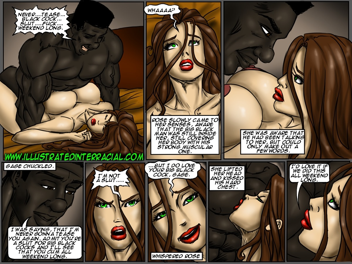 Flag Girls- Illustrated interracial - part 6