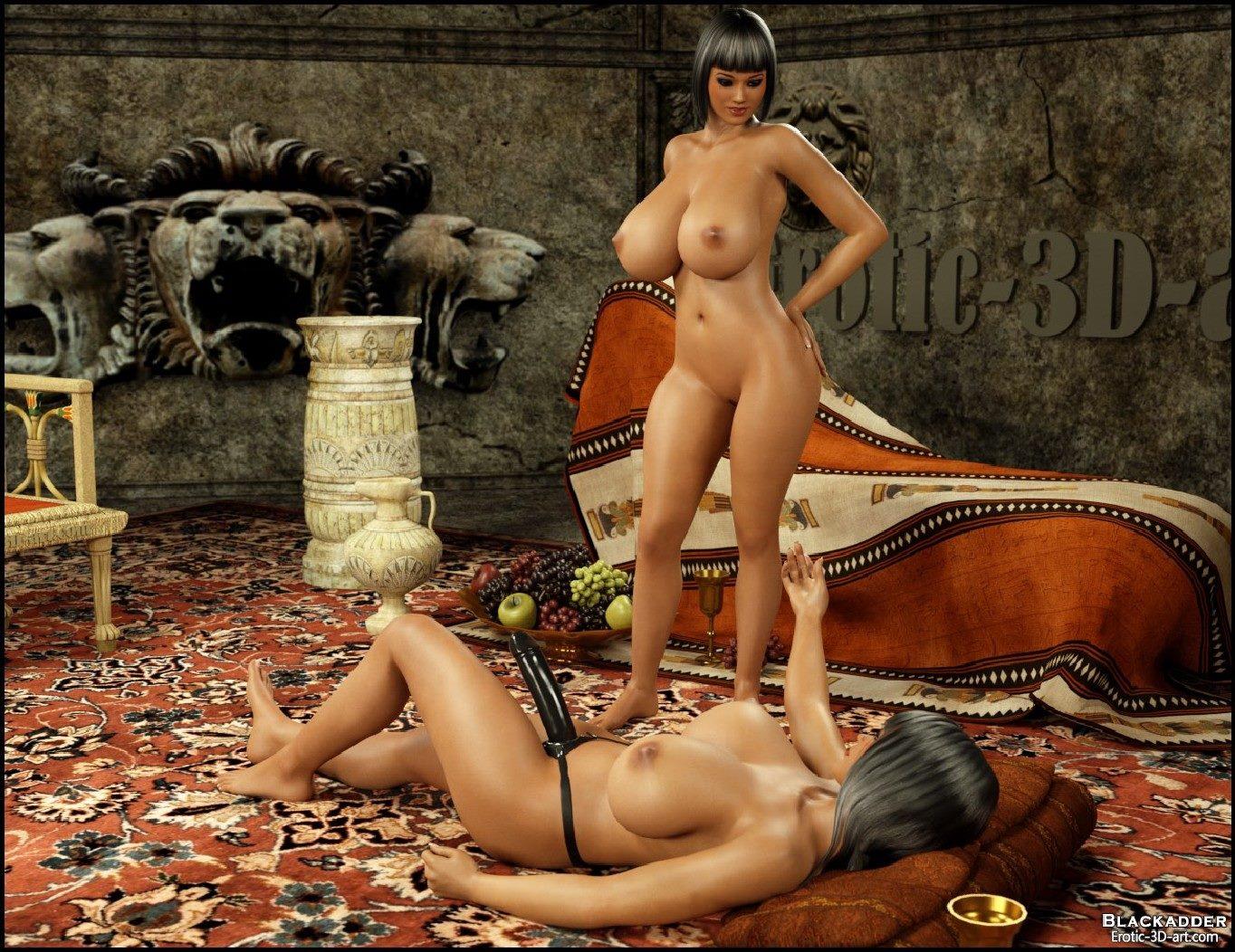 Королевский секс с рабынями
