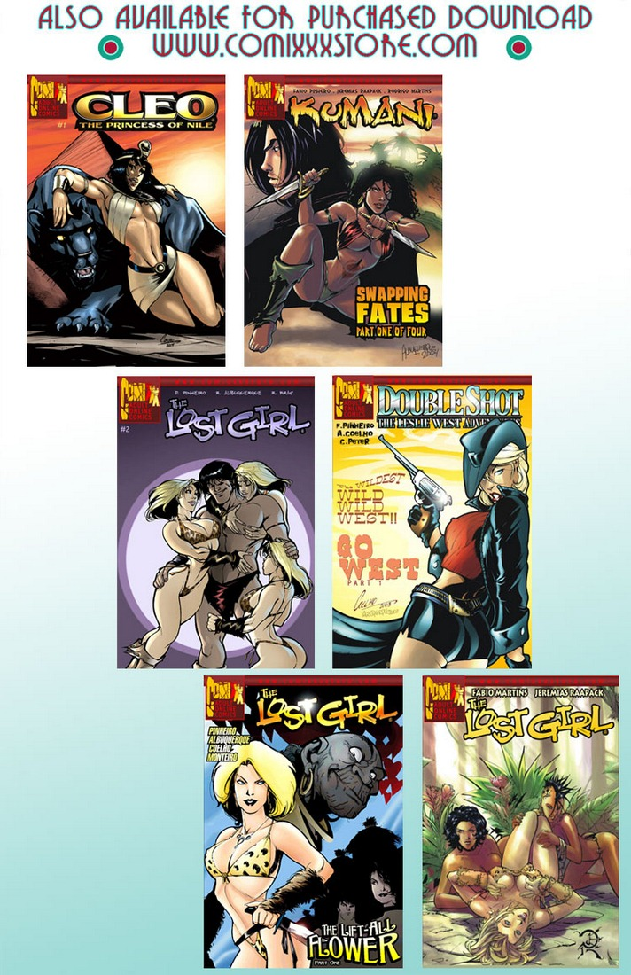 9 Super Heroines - The Magazine 9 - part 3