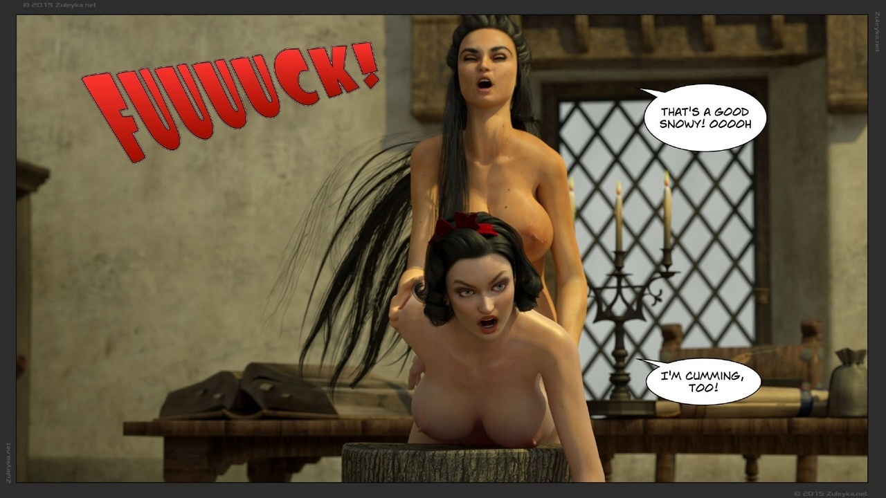 Snow White Meets The Queen 1 - part 2