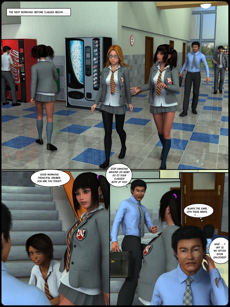 स्कूल लड़कियों - हिस्सा 2