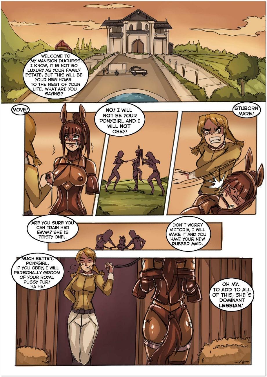 Derby 1 - Duchess Ponygirl Transformatioch