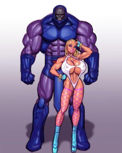 [thePiT] Power Girl vs Darkseid (Superman)
