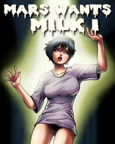 Mars Wants Milk