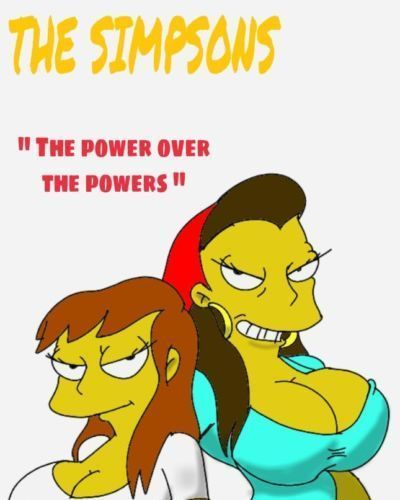 "the simpsons ""the power over the Powers\"""